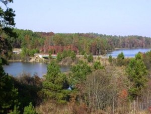 Tribble Mill Park - Overlooking the Ozora Lake